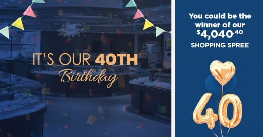 Waterfall Jewelers Celebrates 40 Years in the Community With Giveaways All Month Long
