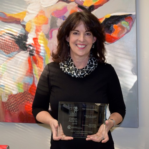 Flair Communication President, Debby Girvan Wins National Award for Web Design Excellence