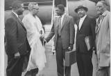 Dr. Martin Luther King Welcomes Tom Mboya to Atlanta May of 1959