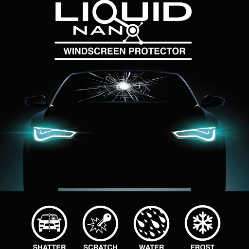 LiquidNano Launches New Liquid Windshield Protection for Pre-Order on Kickstarter
