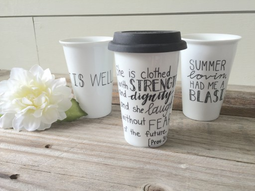 Calligraphist to Launch Line of Ceramic Travel Mugs This July 23