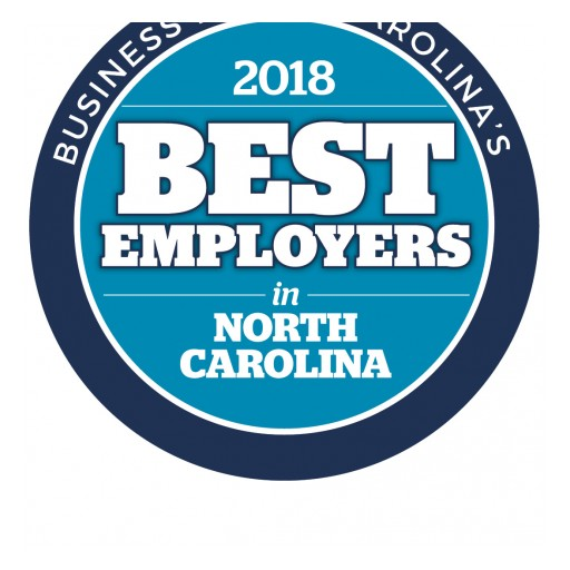 The Brooks Group Named One of '2018 Best Employers in North Carolina'
