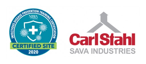 Carl Stahl Sava Industries Certified by NJBIA as a New Jersey Healthy Business