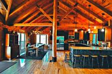 Log Home Beltzville Lake
