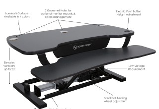 The VersaDesk Power Pro Features