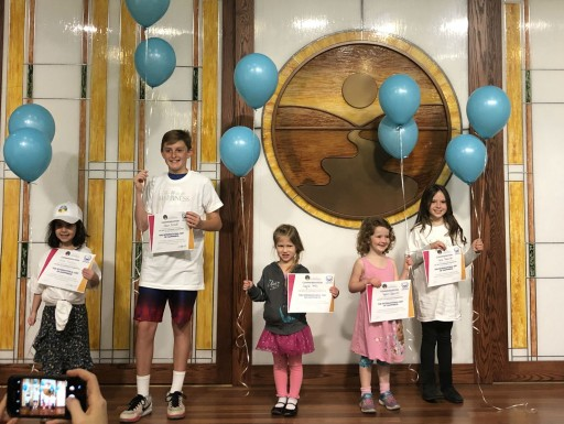Children Awarded for Their Neighborhood Spirit