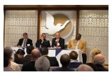 Religious leaders at a forum at the Church of Scientology Los Angeles