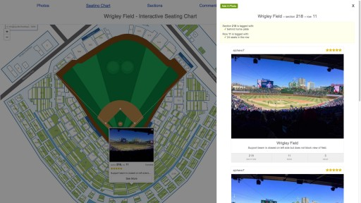 A View From My Seat Launches Fan-Driven Seating Charts to See the Views