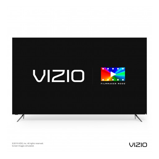 VIZIO Announces Filmmaker Mode™ Will Launch With 2020 Smart TV Collection