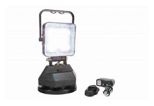 Larson Electronics Releases 15W LED Portable Floodlight With 200 Lb Magnetic Mount, 1,100 Lumens
