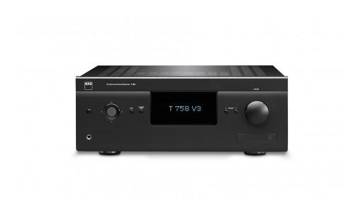 NAD Electronics' T 758 V3 A/V Receiver Named Best Premium Home Theatre Receiver by World's Most Prestigious Hi-Fi Press