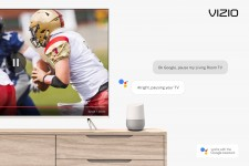 VIZIO SmartCast TVs expand voice control capabilities with new Google Assistant hands-free commands highlighted during Google's NYC launch event