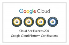 Cloud Ace Exceeds 200 Google Cloud Platforms Certifications Banner