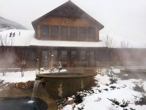 Iron Mountain Hot Springs - winter, Glenwood Springs