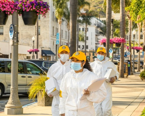 Ventura Scientologists Step Out With Education on Disease Prevention to Control New Cases of COVID 19