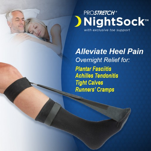 Stop Morning Heel Pain With Medi-Dyne ProStretch NightSock