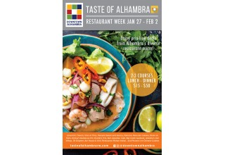 2019 Taste of Alhambra Restaurant Week