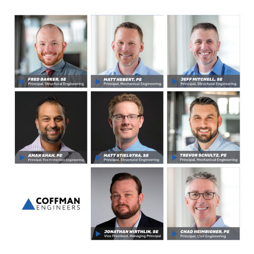 New Shareholders and New Board Director at Coffman Engineers