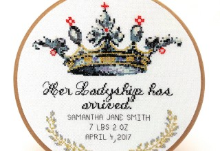 Her Ladyship Cross Stitch Pattern