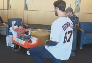 Minnesota Twins Players joined Pads for Pēds for Mayo Clinic Donation