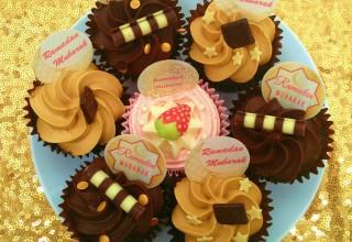 Ramadan cupcake toppers