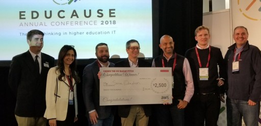 Campus Solution Chosen by Industry Experts in Pitch Competition