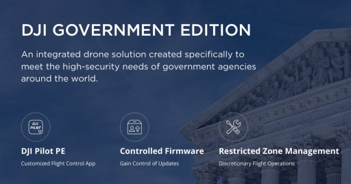 AirWorks Offers DJI Drone Solutions for Governments and Agencies