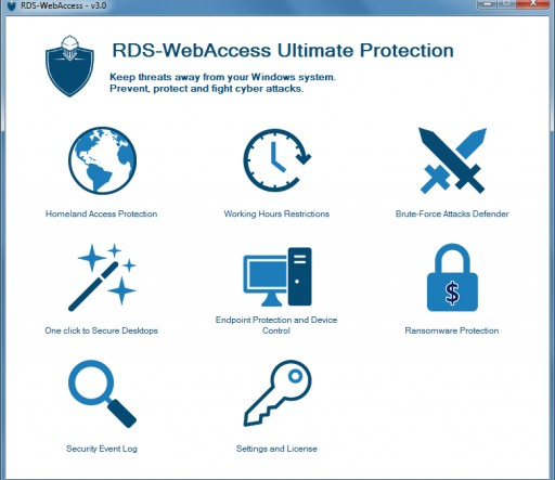 RDS-WebAccess Optimized for Windows 2016 and W10 Environments