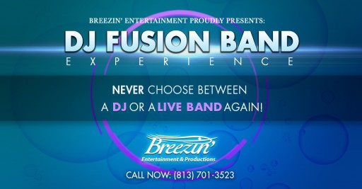 Breezin' Entertainment & Productions Launches New DJ Fusion Band Experience for 2019