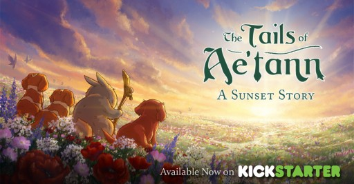 """The Tails of Ae'tann"" From Five-a Two LLC Hits #1 in Most Funded Live Children's Book Projects  and Top 10 in Most Funded Live Publishing Projects  at Midway Point on Its Kickstarter Campaign"