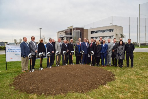 Intuitive Health and Riverview Health Break Ground in Fishers, Indiana, on the First of Four New Dual Model ER & Urgent Care Facilities