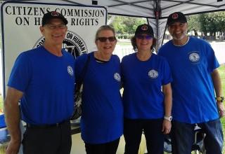 CCHR volunteers