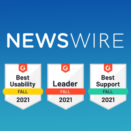 Newswire Rises to the Top, Earns Dozens of G2.com Badges in Fall 2021 Report