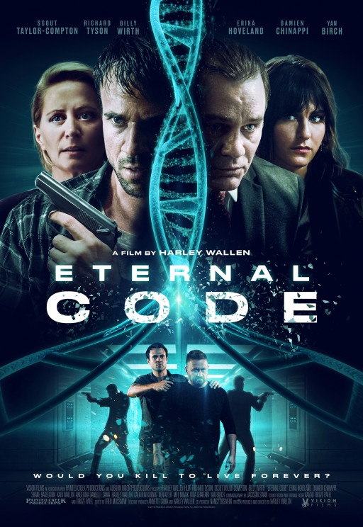 Harley Wallen's Eternal Code Announces VOD and DVD Release Through Vision Films and Limited Theatrical Release With Emagine Theaters