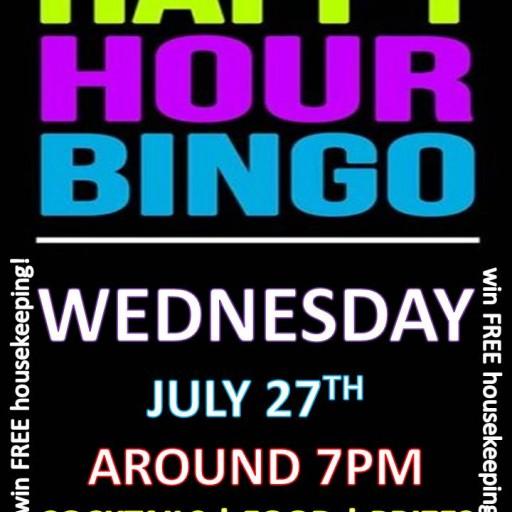 TENTEN Wilshire Rooftop Happy Hour: Bing Bang Bingo!