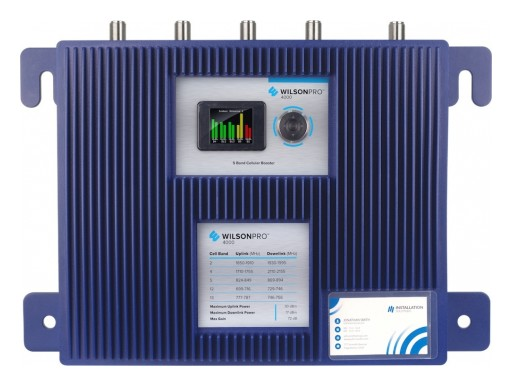 WilsonPro 4000 Offers Edge in Commercial Cell Signal Booster Market