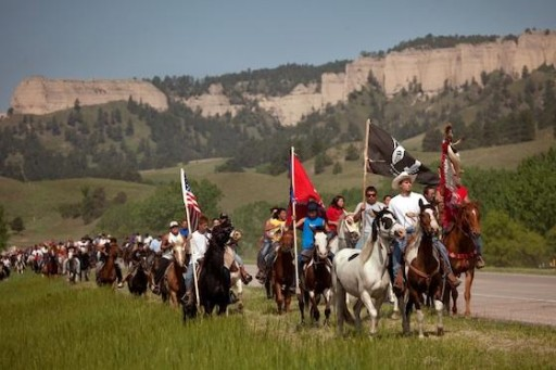 1,000 Lakota Sioux Youth to Descend Upon Dakota Pipeline Protest Site