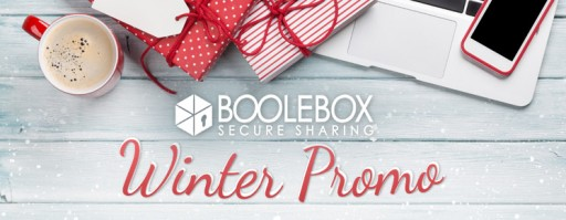 BooleBox, the Multi-Sided Secure Collaboration Platform, Launches a Winter Promo