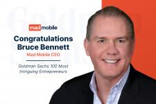 Bruce Bennett, Mad Mobile CEO