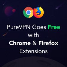 PureVPN Goes Free with Chrome & Firefox Extensions
