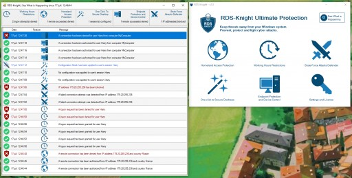 Visible & Effective Server Protection With the New RDS-Knight 2.0