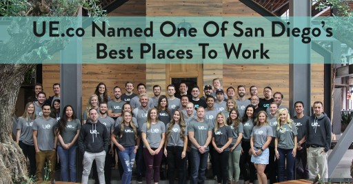 UE.co Named San Diego's Best Place to Work by San Diego Business Journal