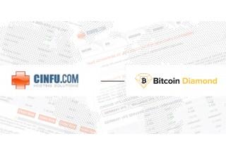 Cinfu Hosting Solutions x Bitcoin Diamond