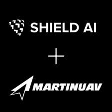 Martin UAV and Shield AI Logos