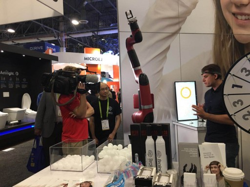 Mind-Controlled Industrial Robot: BrainCo Debuts Cutting-Edge BMI Technologies at CES 2018