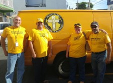 For two months Mark and Trish (center) were part of the Volunteer Ministers Puerto Rico Disaster Response Team.