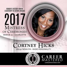 Cortney Hicks, Music Director and Veteran Radio Personality