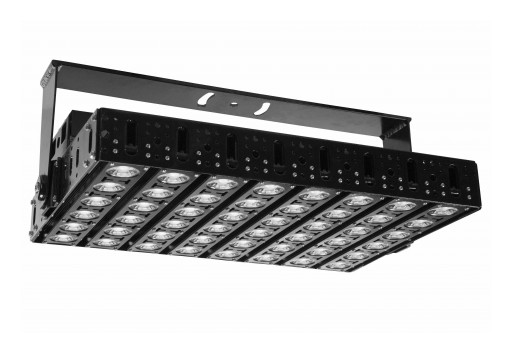 Larson Electronics Releases 480W High Bay LED Light Fixture, 120-277V AC, Day/Night Photocell
