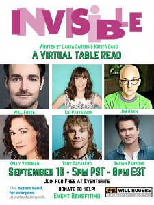INVISIBLE TABLE READ
