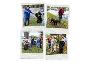 PetTest Wellington, FL Lake Clean Up
